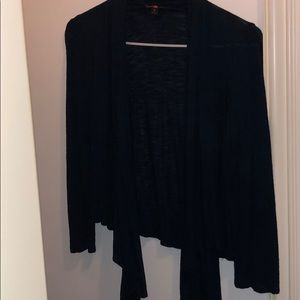 Navy cardigan- front tie size SMALL